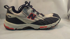 New Balance 904 Gray Blue and Red Trail Running Shoes Women's Size 11 M / 43 EU