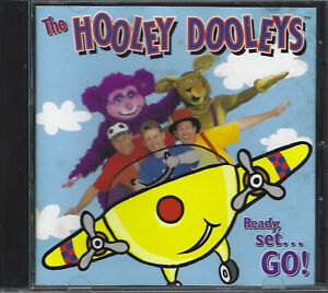 THE HOOLEY DOOLEYS Ready Set...Go! CD (1998) *ABC for Kids