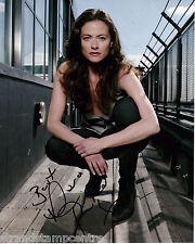 "Lara Pulver Colour 10""x 8"" Signed 'Spooks' Photo - UACC RD223"