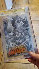 Secret Wars cgc 9.8.SS Greg Horn Game Stop Variant RARE HTF!