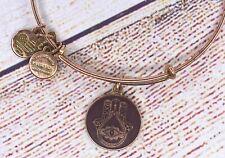 Alex and Ani Hand of Fatima Color Infused Charm Bangle Gold Bracelet 2015
