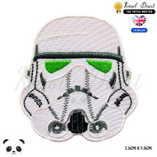 STAR WARS Storm trooper  Embroidered Iron On Sew On Patch Badge For Clothes etc