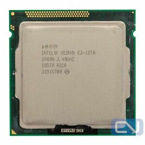 Intel Xeon E3-1270 3.4 GHz 8MB 5GT/s SR00N LGA1155 B Grade CPU Processor