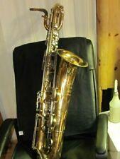 "Keilwerth Stencil ""Blessing Artist"" Baritone Saxophone LOW Bb!"