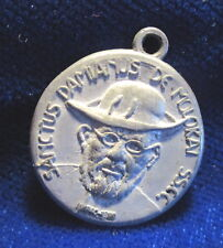 Fr Damien Molokai Medal Sanctus 1994 Patron of Lepers Hawaii FREE SHIPPING