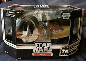 2004 Star Wars: The Original Trilogy Collection Slave 1 with Boba Fett Hasbro