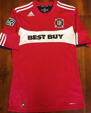 Adidas CHICAGO FIRE 2010 Home Football Soccer MLS Jersey Men's M USA Shirt