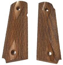 WWII US m1911A1 .45 WOODEN PISTOL GRIPS-REPLACEMENT