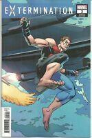 Extermination #2 Hawthorne Connecting Variant Marvel Comic 1st Print 2018 NM