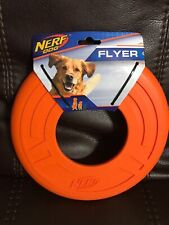 Nerf Dog Flyer 9'' Orange