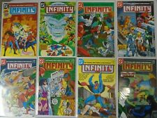 Infinity lot #1-53 & Annual (1st series) 48 different 8.0 VF (1984)