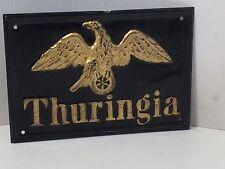 ORIGINAL BLECHSCHILD THURINGIA