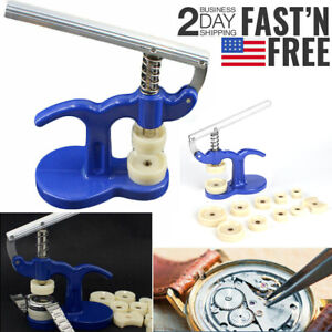 18-50mm Watchmaker Tool Watch Press Set Back Case Closer Crystal Glass Fitting