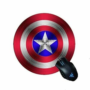Rubber Gaming Mouse Pad Mat Captain America
