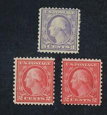 Ckstamps: Us Stamps Collection Scott#540 Mint 1H Og 1Ng #541 H Og Thin