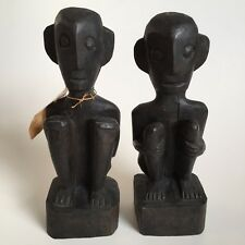 Bulul Pair Ifuago Province Luzon Island Chang Rong Antique Gallery