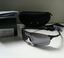 New OAKLEY EVZERO PITCH MATTE BLACK w/ Black Iridium Sunglasses range radar path