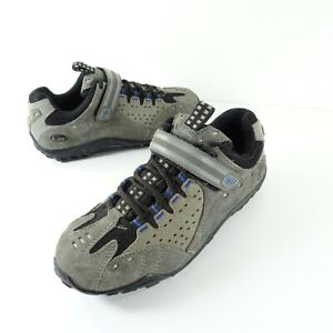 Specialized Tahoe Womens Gray Blue Cycling Shoes EU 36 US 6