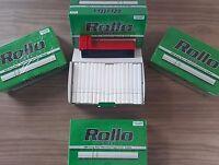600 ROLLO Cigarrette Tobbacco Tube (8.4mm) Menthol + FREE INJECTOR