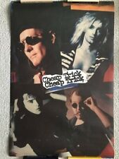 Cheap Trick Vintage 24x36 Poster From 1986 Awesome Group Shot Very Rare