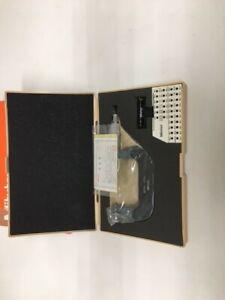Mitutoyo metric outside micrometre 126-127 50-75mm 0.01mm