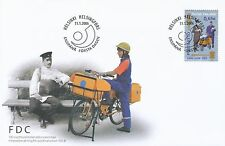 Finland 2006 FDC - Postal and Logistics Union PAU - Postman - Bicycle
