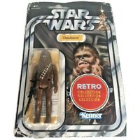 Hasbro Star Wars - The Retro Collection - Chewbacca Figurine, Sealed in Pack