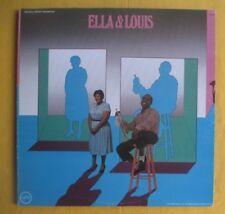 Ella Fitzgerald & Louis Armstrong 2Lp- Ella & Louis, US Verve pressing