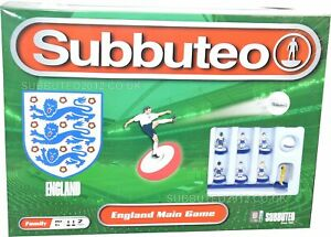 Football SUBBUTEO ENGLAND TEAM SET Soccer Board Game Toy Childrens Family