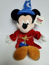 "New 24"" Disney Sorcerer Mickey Mouse Plush Limited Edition w/Tag #1206"