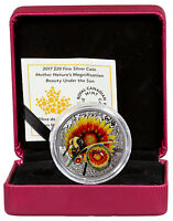 2017 Canada Nature's Magnification Beauty Under Sun 1 oz. PF Silver $20 SKU47958