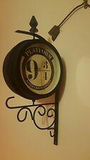 Harry potter platform 9 3/4 station wall clock hand customised!fantastic beasts