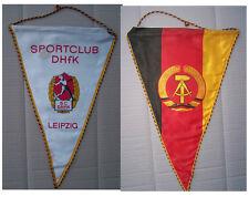 DDR GDR Wimpel Sportclub DHfK Leipzig