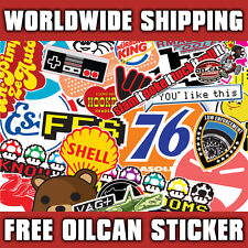 A5 STICKER BOMBING FUEL FLAP STICKER by oilcan stickers