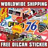 A5 STICKER BOMBING FUEL FLAP STICKER by oilcan stickers