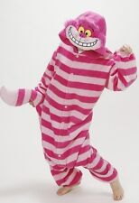 Kigurumi Disney Cheshire Cat Costume Pajama Pajamas Sazac Japan Free Ship NEW