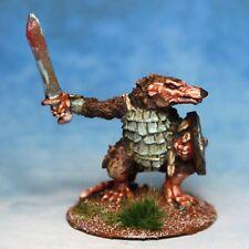 Ratman with sword Skaven Warhammer Fantasy Armies 28mm Unpainted Wargames