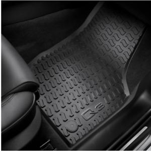 Genuine Audi Q3 Rubber Floor Mats Front & Rear Mat Set of 4 2012-2018