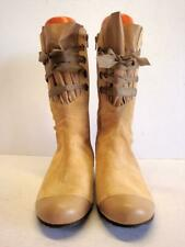 Peter Kent Lace Up Flat Ankle Boots Size. 38 EUR  7-7.5 US - Never Worn