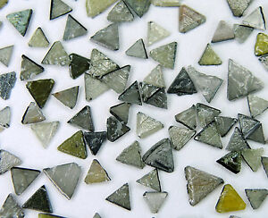 Natural Loose Diamond Triangle Gray Rough Flat Industrial Use 5.00 Ct Q58