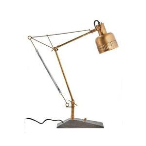 "Prague Table Lamp - Solid Brass Desk Lamp - 28"" High"