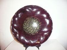grand plat a gâteaux en céramique 35 cm Neustricer ( pierre Lucas ) France signé
