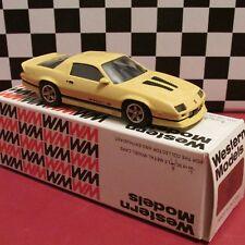 Western Models,1;43 scale 1985 Chevrolet IROC Z,Camaro,diecast model car,#WP 112