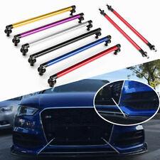 2Pcs Adjustable Car Front Rear Bumper Lip Splitter Rod Strut Tie Support
