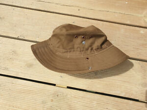 SOUTH AFRICAN SADF NUTRIA BROWN BUSH / BOONIE HAT SIZE 58 - LARGE SIZE