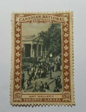 Rare 1937 Canadian National Exhibition commemorative stamp - CNE - Art Gallery