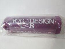 Laboratorio de diseño de yoga premium Hot Yoga Toalla púrpura, Nuevo, Envío Gratis!