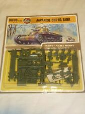 Airfix un built plastic kit of a Japanese CHI-HA Tank, Blister pack & Card.