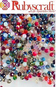 Original Swarovski® 25pcs 8mm Round Mixed Bead AB Colours, Standard & 2XB Beads