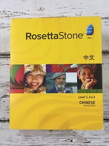 Rosetta Stone Chinese Mandarin Level 1, 2 & 3 Personal Edition V3 for PC, Mac